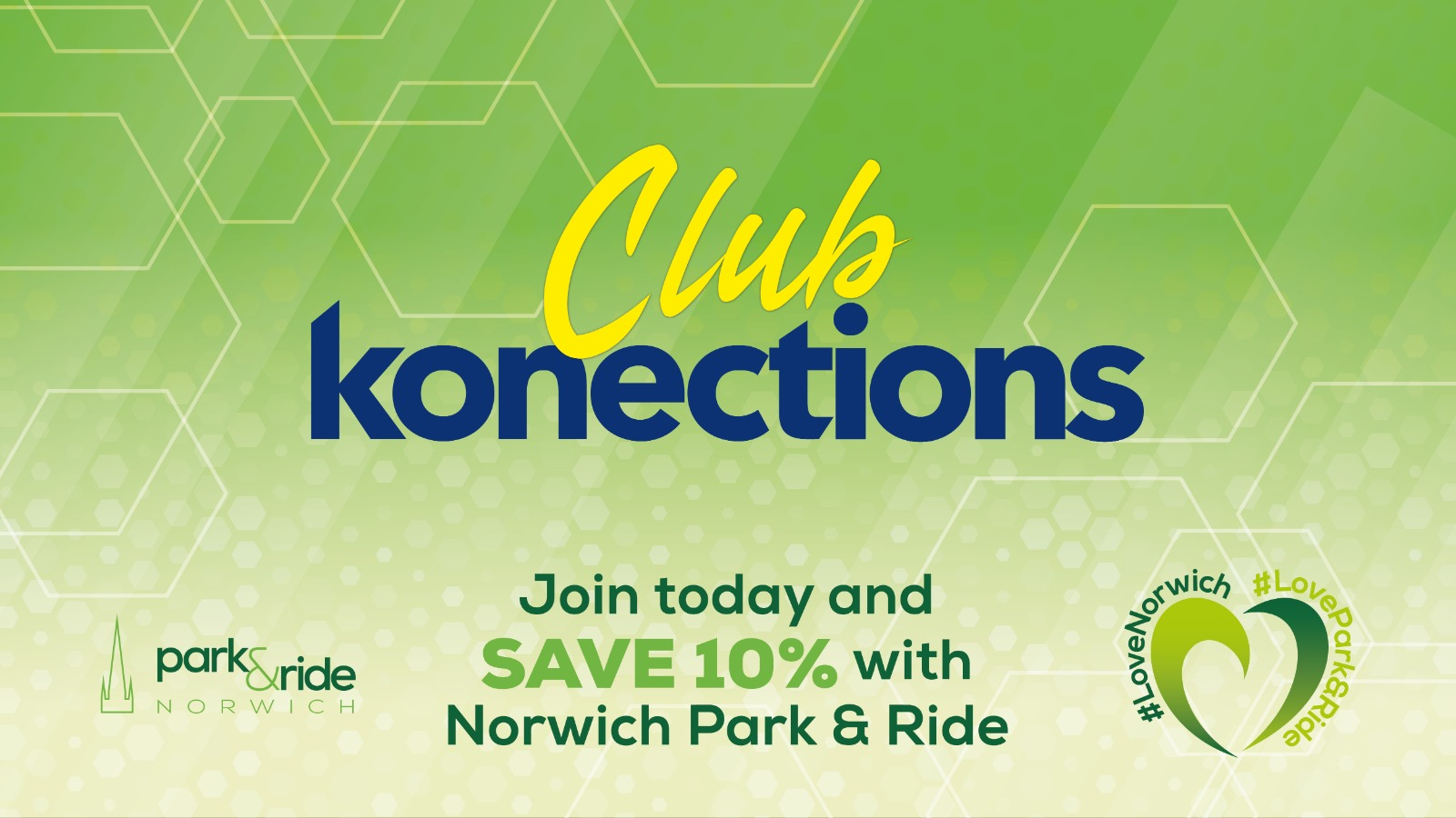 Save 10% with Norwich Park and Ride
