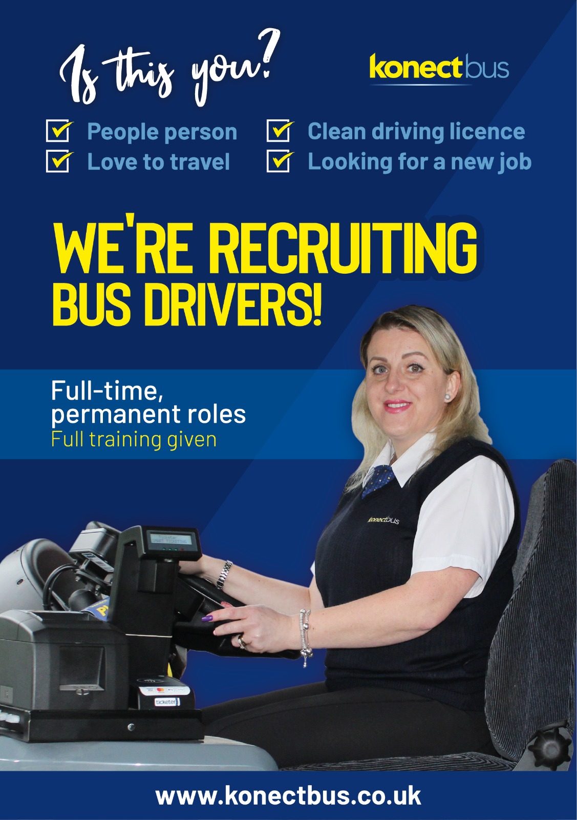 Image of a bus driver