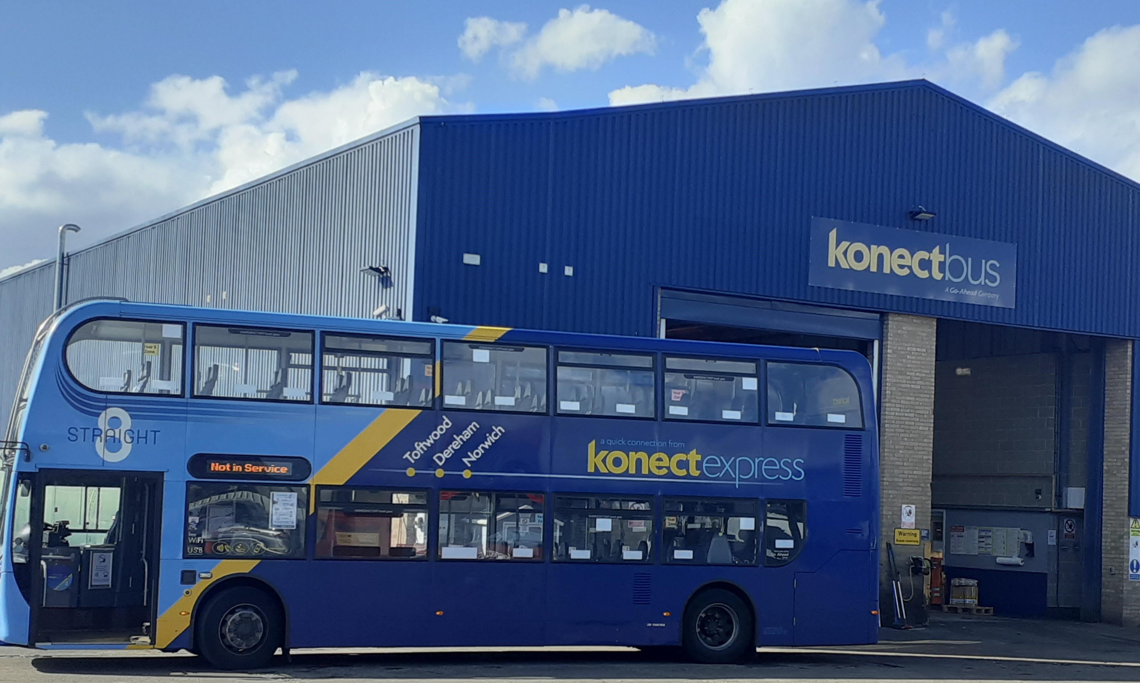 Photo of Konectbus Straight 8