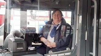 Photo of a Konectbus driver